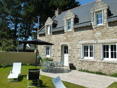 Beautiful, fully renovated Breton stone house in a sought-after area