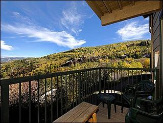 Snowmass Village condo photo - Deck with Views