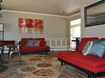Heavenly Valley house rental - 2 Queen Armless Sofa Beds in Living Room. Purchased new July 2014.