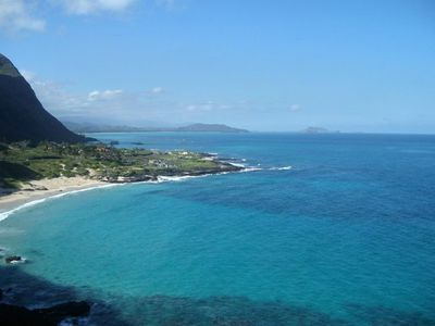 Makapuu beach ( Nice boogie board beach)