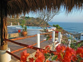 Huatulco villa photo - Another ocean view terrace