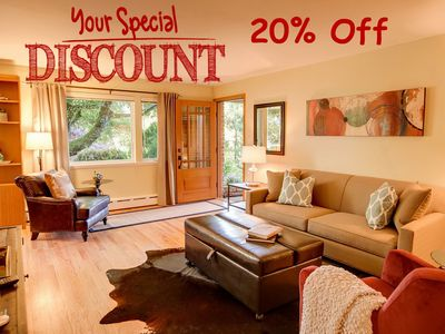 20% OFF - 1 BD CONDO - AC - FREE PRIVATE PARKING - SWEET LOCATION - FIVE STARS
