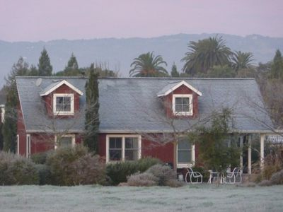 Winter at the Red Viking Cottage