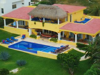 Isla Mujeres house photo - View of Casa Amarilla