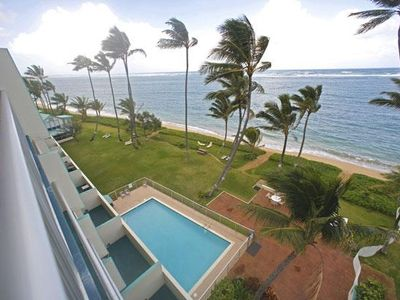 Beachfront/ocean view condo with wrap around views!