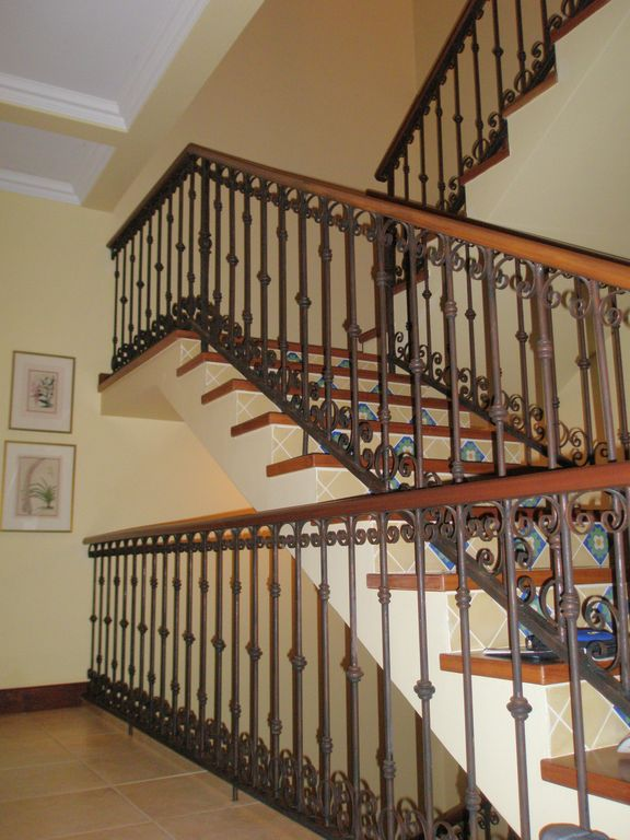 Stairs leading to the third floor