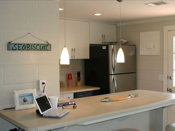Gulf Resort Beach house rental - kitchen