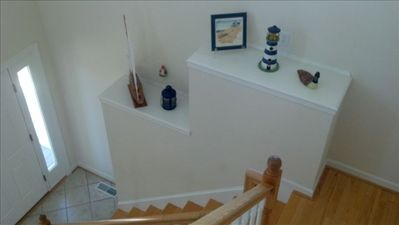 Foyer from upstairs