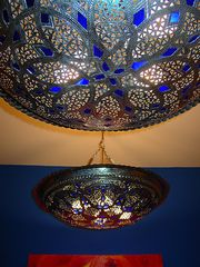 Chelsea apartment photo - moroccan lamps