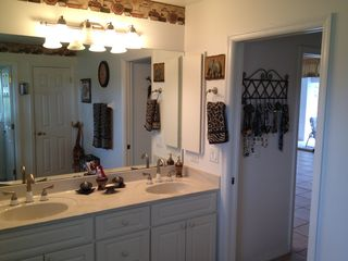 Cape Coral house photo - His and hers sink.