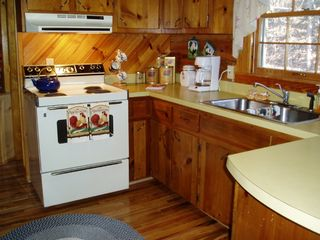 Maggie Valley cabin photo - Fully equipped kitchen