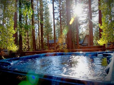 Outdoor Private Hot Tub