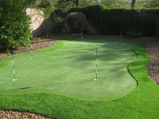 Cave Creek house photo - new putting green