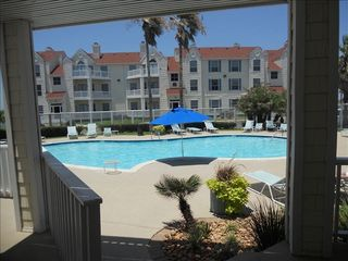 North Padre Island condo photo - Pool/Hot Tub Area