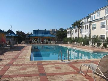9,000 square ft. pool and facilities at The Blue Mountain Beach Club