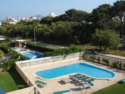 Boquer apartment rental - Pool & Communal Area