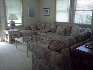 living room seating upstairs - Beach Haven house vacation rental photo