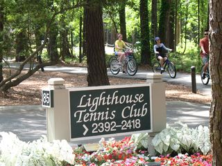 Sea Pines condo photo - Biking is very popular at Lighthouse TennisClub