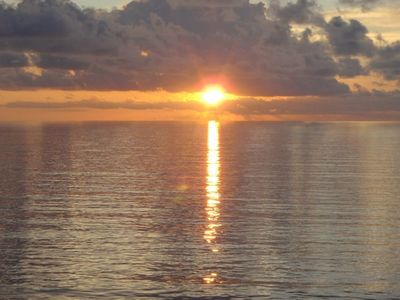 Satellite Beach condo rental - Nothing better than a beautiful sunrise to start your day!
