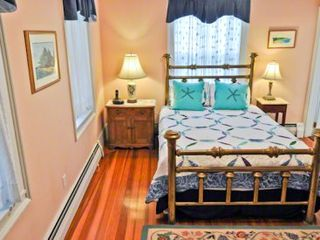 Edgartown house photo - Bedroom #1 - Master Suite Has Queen Bed, Full Bath. First Floor