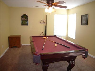 Game Room with 8' Professional Pool Table