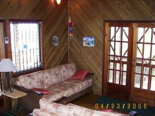 Roatan house photo - Casa Living room