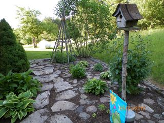 Wellsboro chalet photo - The stepping stone garden.