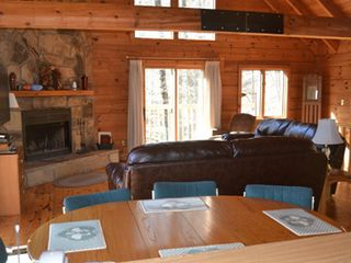 Gatlinburg chalet photo - Spacious living area upstairs!