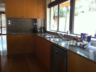 Double Bay villa rental - Kitchen