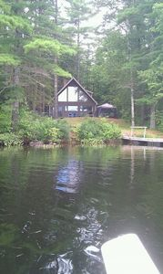 Cottage from the water