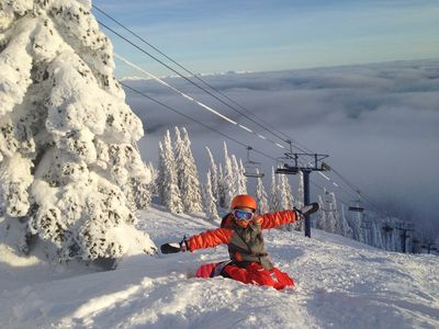 Schweitzer Mountain in January 2013. Another incredible snow year!!