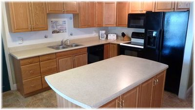 El Centro Beach house rental - The Kitchen is completely stocked with all appliances, dishes,etc, just add food