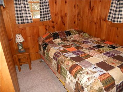 Eagle River cabin rental - 2nd bedroom upstairs