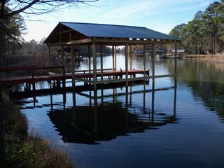 Lake Seminole house photo - Covered Dock