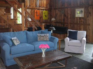 West Tisbury house photo - Brand new sleeper couch and chairs