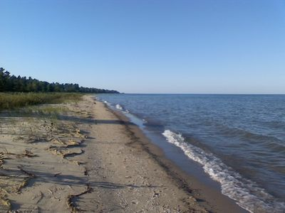 Sandy Huron Beach Facing North