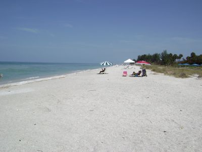 View looking to the right side of beach