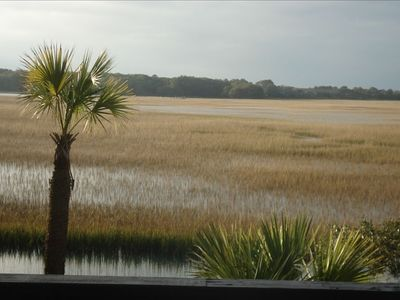 Marsh view from our living area