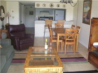 Cape Canaveral condo photo - Dining and Kitchen Area