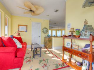 Summer Haven house photo - 3rd floor family room with queen sleeper sofa.