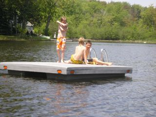 Saugatuck / Douglas house photo - Swim Raft for Sunning