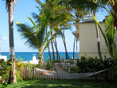 Silver Sands Barbados apartment rental - Coconut, Seaview with garden area
