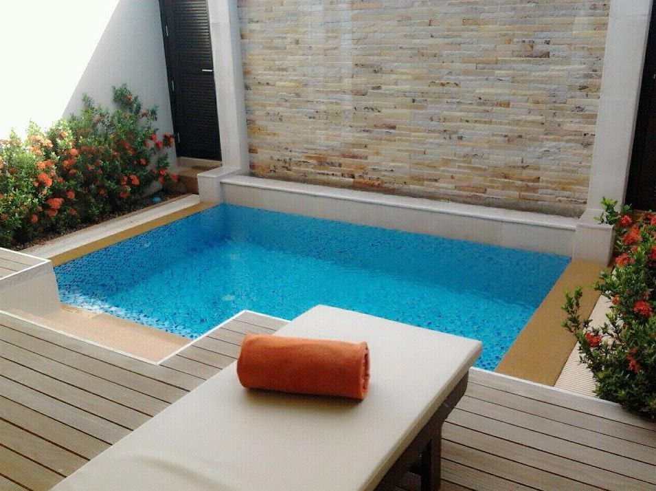 The residence resort and spa one bedroom plunge pool for Plunge pool design uk
