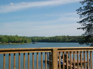 Moneta house photo - Mountain and lake view from the deck