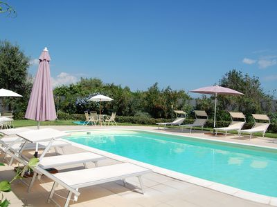 Residence Etna with sea view and garden and pool perfect for relaxing.