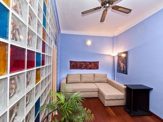 Bologna apartment photo - The Studio room features a great sofabed - a real bed, firm mattress and frame
