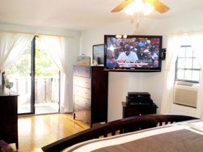 "Seaglass Master Bedroom 4 With 42"" Plasma Hi-Def TV"