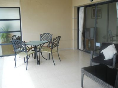 Calpe apartment rental - Terrace Dining Table