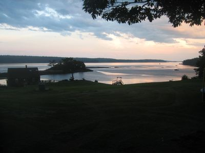 An enchanting evening on the Sheepscot
