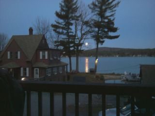 Beautiful moonrise over the property! - Alton cottage vacation rental photo